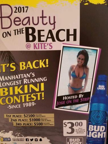Josie On The Strip-Beauty On The Beach